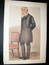 Vanity Fair Print: 1890 Stewart Pixley, Business, Spy